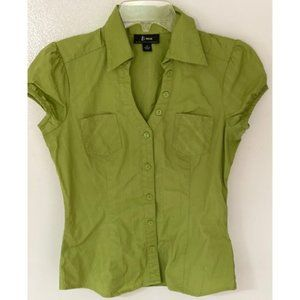 B-Wear Lime Green Top with pockets